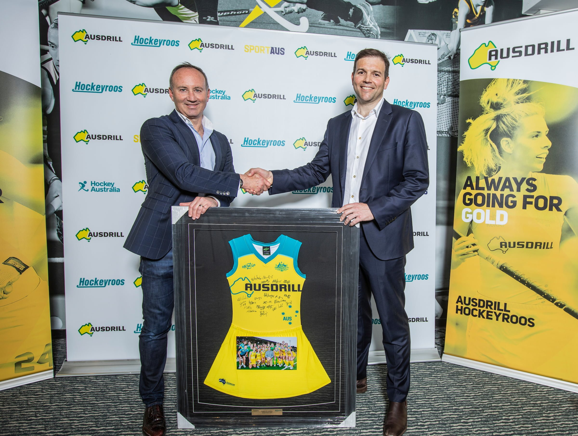 Ten up as Ausdrill renews as Hockeyroos' Naming Rights Partner