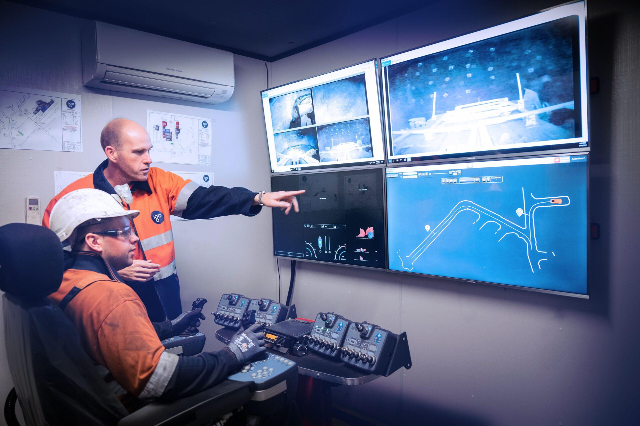 Barminco successfully pilots Remote Operations Centre – BROC