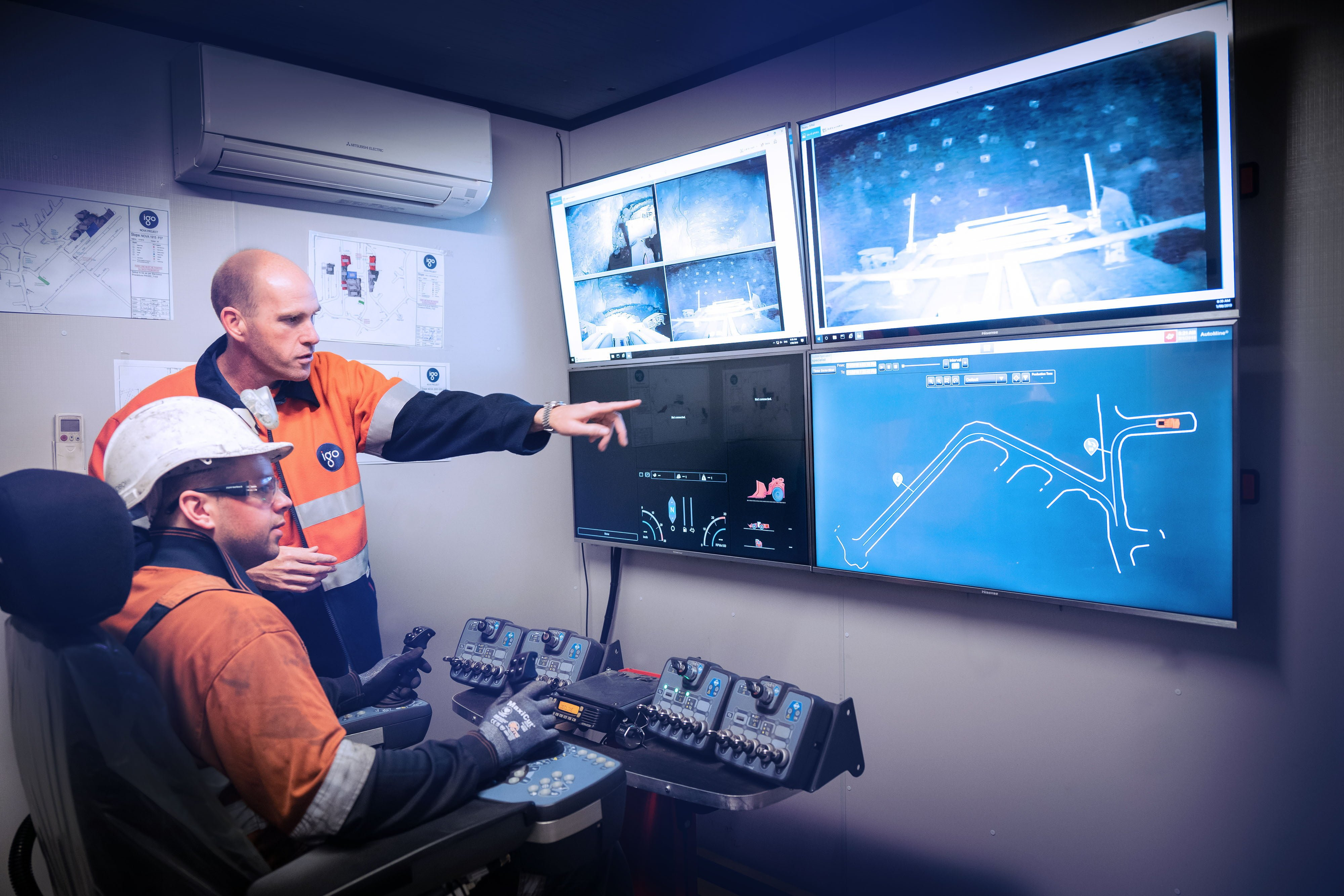 Barminco successfully pilots Remote Operations Centre – BROC