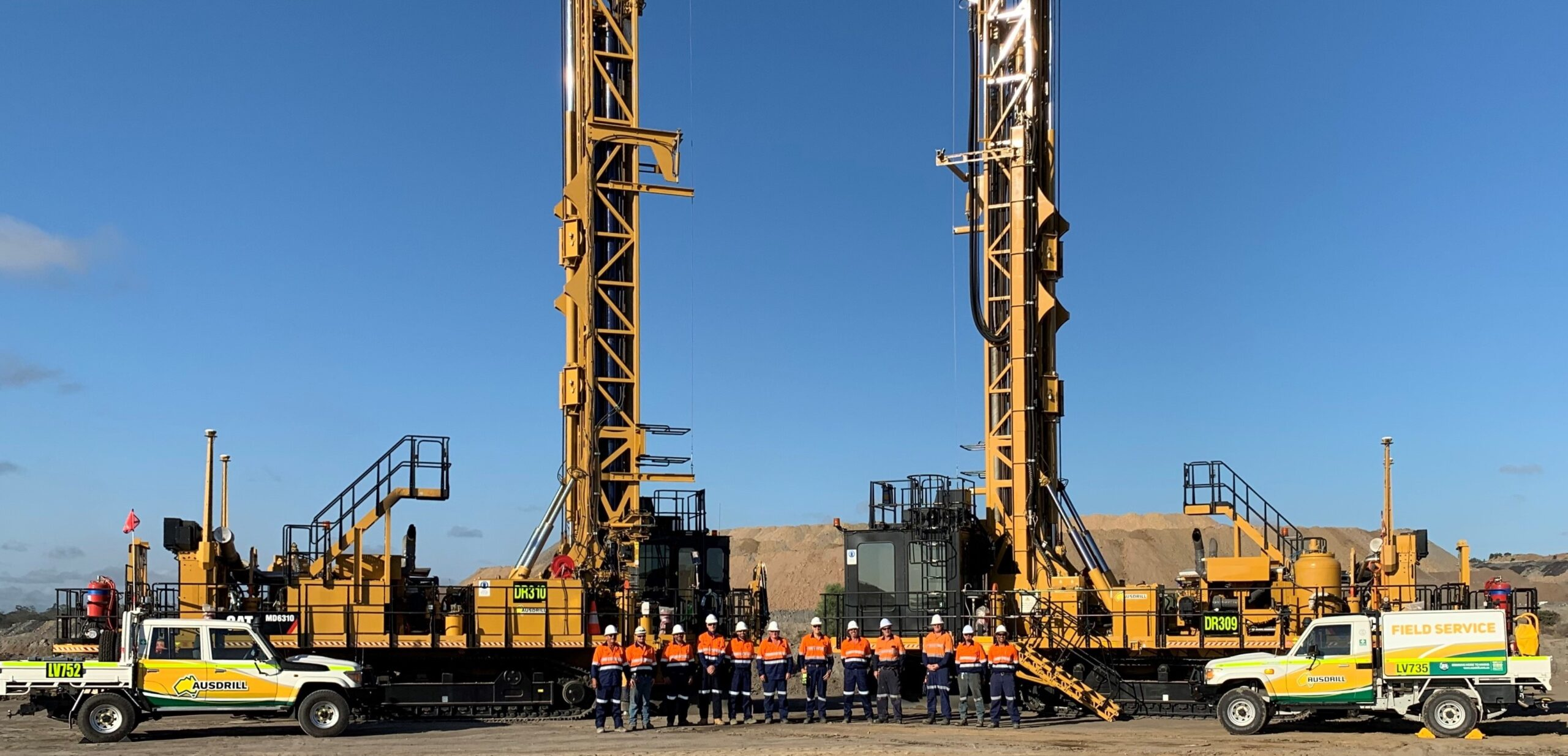 Ausdrill has been awarded $79m in new contracts for a range of exploration and production drill & blast works