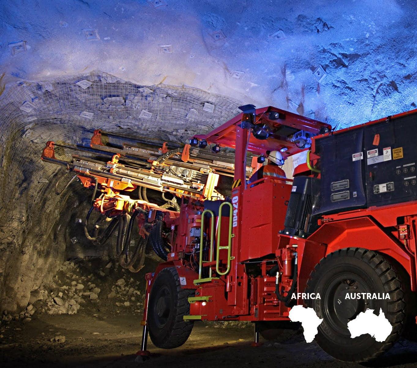Underground mining • two