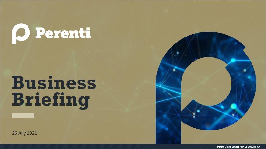 Reports & presentations • TDM launch