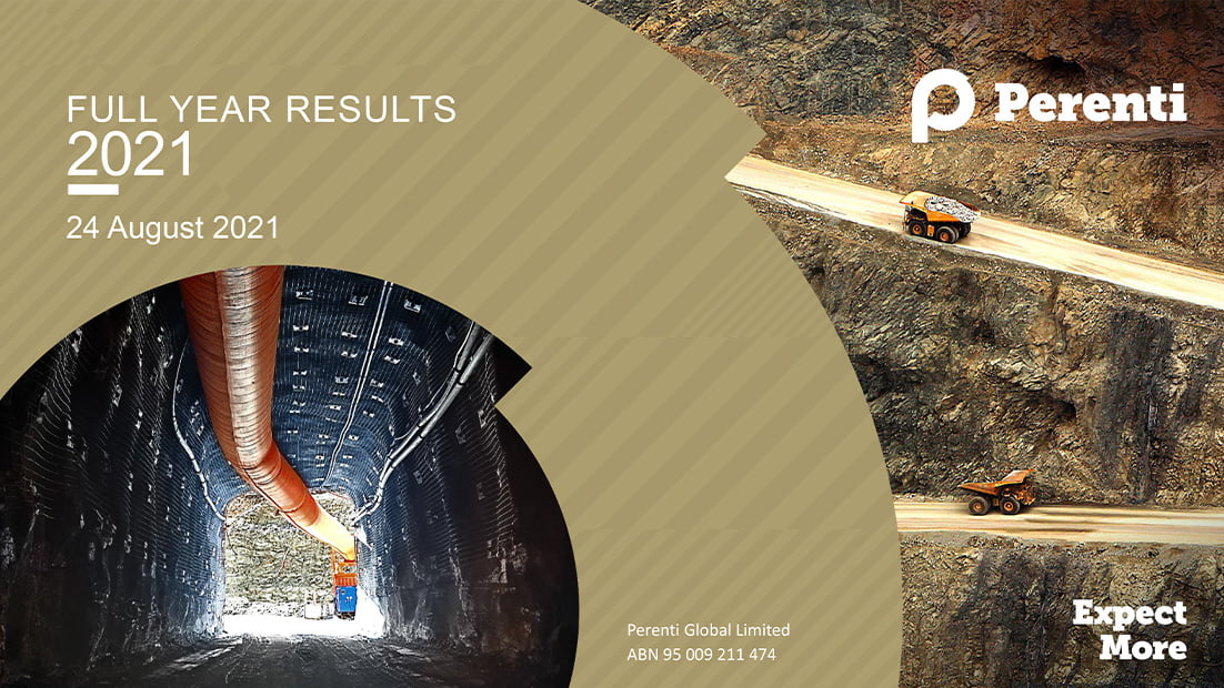 Perenti delivers solid FY2021 Results: proactively managing headwinds and positioning for growth
